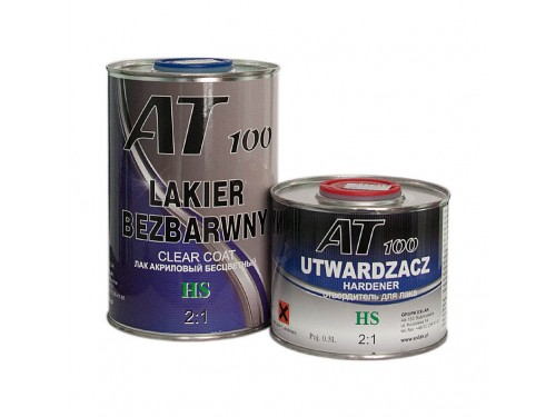 AT100 Acryl Clearcoat HS 2:1 1l