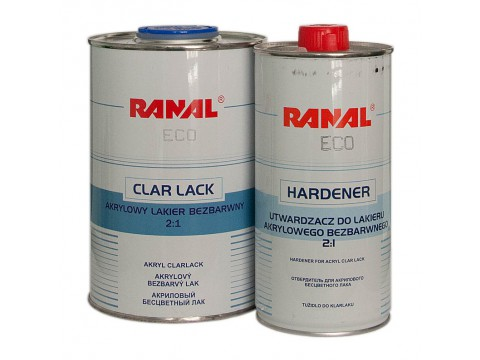 Ranal Acryl Clearcoat ECO MS 2:1 1l