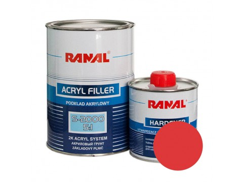 Ranal S-2000 Acryl Filler 5:1 Red 1l