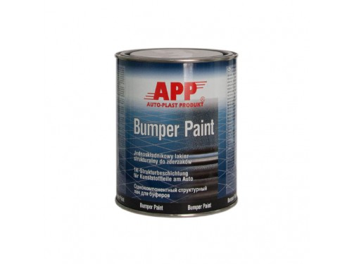 APP 1K Bumper Paint Black 1l