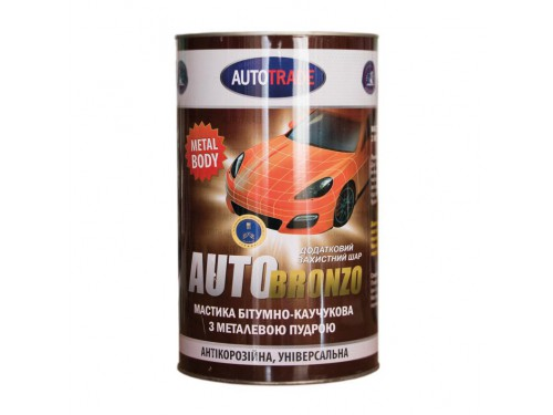 Autotrade мастика бронза 5l
