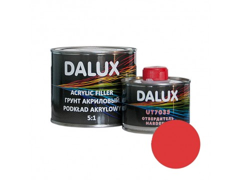 Dalux  Acrylic Filler 5:1 Red 0,5l