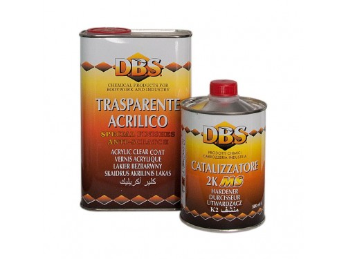 DBS Acryl Clearcoat MS 2:1 1l